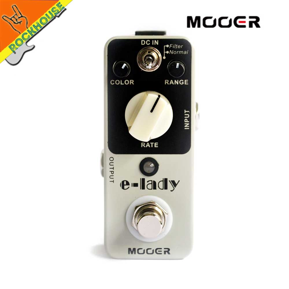 MOOER Eleclady E-lady Vintage Analog Flagner Guitar Effects Pedal Sounds Imposing Filter & Normal Mode True Bypass Free shipping mooer guitar effect pedal eleclady analog flanger effects true dypass guitar effectors