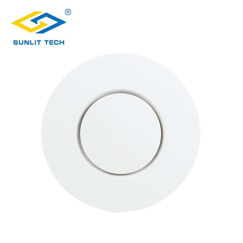 Wireless Fire Protection Smoke Detector Alarm Sensor for 433MHz Smoke Sensor Alarm System for Smart Home Office Kitchen Security