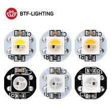 10~ 200 шт. WS2812B светодиодный чип с теплоотводом платы черный/белый PCB(10 мм* 3 мм) DC5V WS2811 IC WS2813 IC 5050 SMD RGB LED SK6812 RGBW