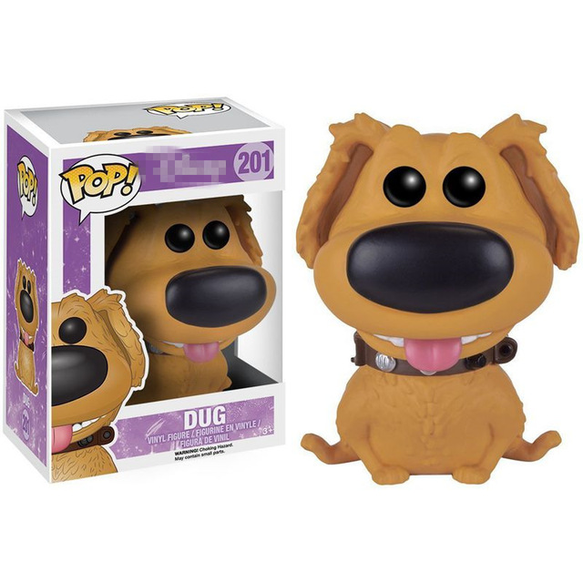Exclusive FUNKO POP Official Dug Vinyl Action Figure Collectible Model Toy with Original Box