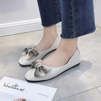 2018 New Summer Autumn Fashion Boat Shoes Women Breathable Pu Leather Shoes Shallow Mouth Casual Shoes Round Toe Plus Size 35-39 Flats