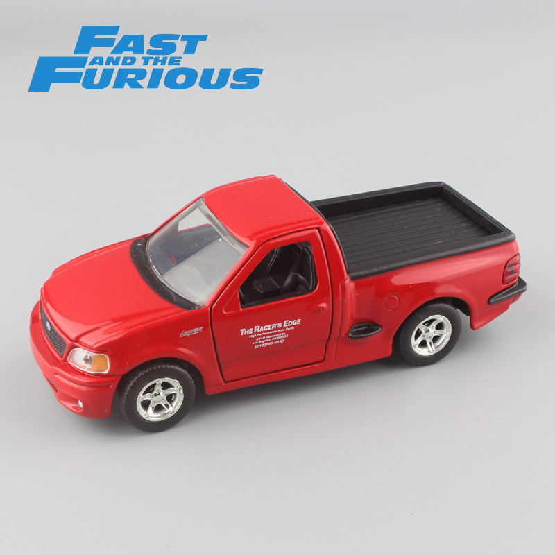 FAST & FURIOUS 1:32 Scale metal die cast model brian's Ford F-150 SVT Lightning 1999 car truck gift mini vehicle toys for boy siku die cast metal model simulation toy 1 32 scale ropa beet harvester educational car for children s gift or collection big