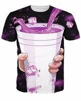 Purple Drank T Shirt Short Sleeve Casual Tops Tee High Quality T Shirt Men S Fashion