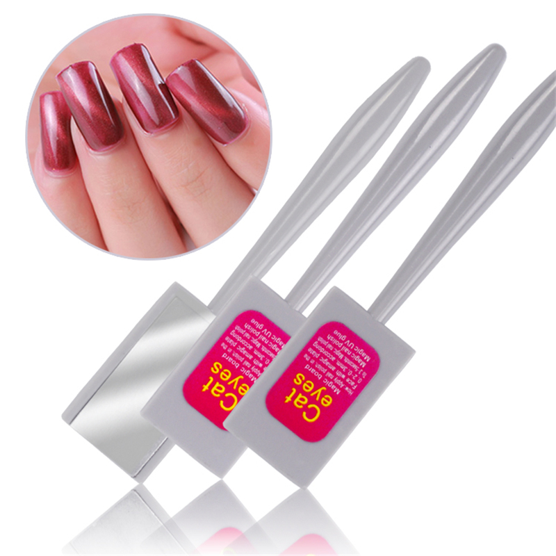 1 Piece New 3D Effect Strip Magical Magnet Stick For Cat Eye Gel Polish Nail Art Manicure Tool