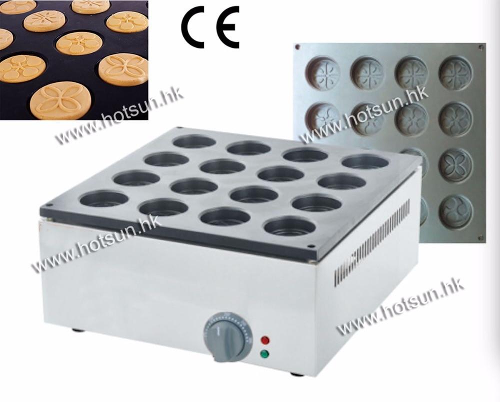 Commercial Use 220v Electric 16pcs Dorayaki Azuki Bean Waffle Maker Baker Machine Iron free shipping 32pcs 6 8x2 3cm 220v electric obanyaki dorayaki red bean waffle baker maker