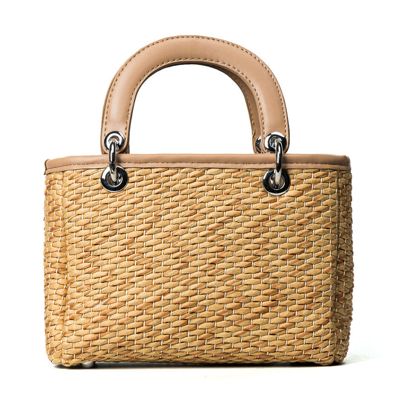 22x14CM Summer Bag Girl 2017 New Trend Shoulder Messenger Bags Harbor Personality Big Handbag Straw Bag