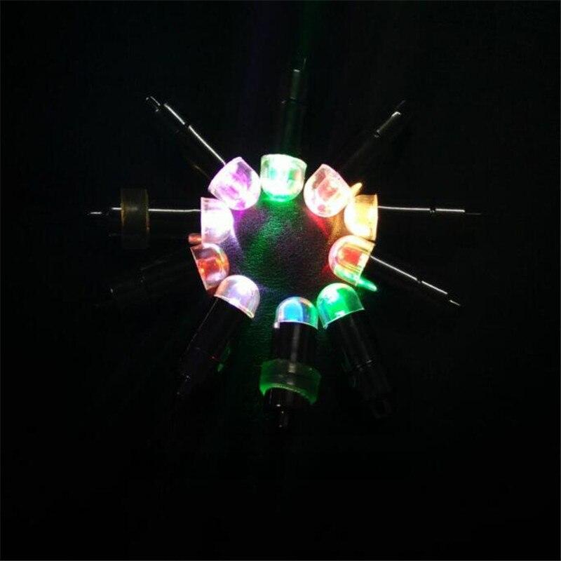 50 шт./лот светодиодный шар свет батарея работает бумажный шарик фонари огни 8 цветов ночь лампы для мотоциклов Свадебная вечерние украшения
