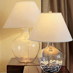 Modern Glass Table Lamp Bedroo