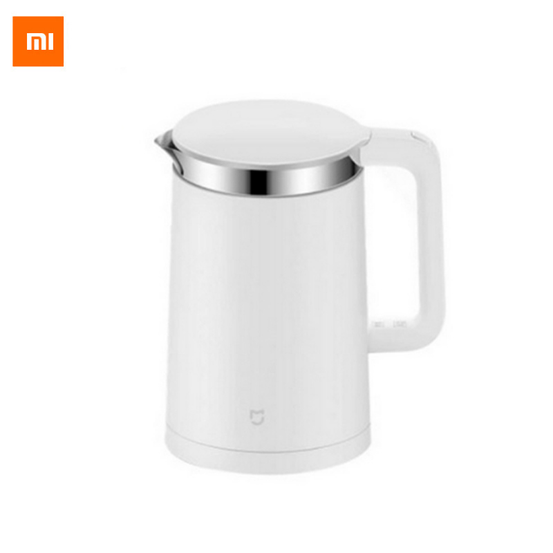 New Xiaomi Mi Mijia Constant Temperature Control Electric Water Kettle 1.5L 12 Hour thermostat Support with Mobile Phone APP картридж g