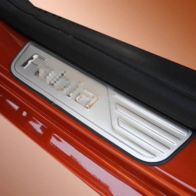 For Skoda Fabia 2009-2013 Stainless Steel Door Sill Scuff Plate Thresholds Pad Tread Plate & Online Get Cheap Door Sill Protector -Aliexpress.com | Alibaba Group Pezcame.Com