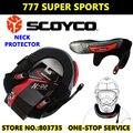 ATV Da Motocicleta Ciclismo Pescoço Protetor Motocross Neck Brace MX Protective Engrenagens Scoyco N02