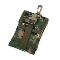شاشة كبيرة الهاتف المحمول حقيبة ل 5.5 بوصة نايلون الترفيه السفر الملحقات هوك حزمة التمويه جيوب الرجال النساء حقائب الخصر