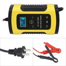 Универсальный 6A 12 v Интеллектуальный Смарт мотицикл автомобиля Батарея зарядное устройство ремонт Тип тестер для батарей Зарядное устройство Батарея авто
