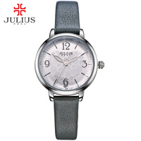 JULIUS Logo Original Brand Watches Casual Ladies Dress wristwatch Silver Black Gold Relogios Feminino Reloj Orologi Donna JA 929