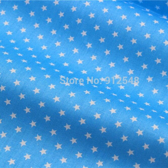 15121195, 50 cm * 150 cm blanco estrella tela de algodón serie, diy hecho a mano