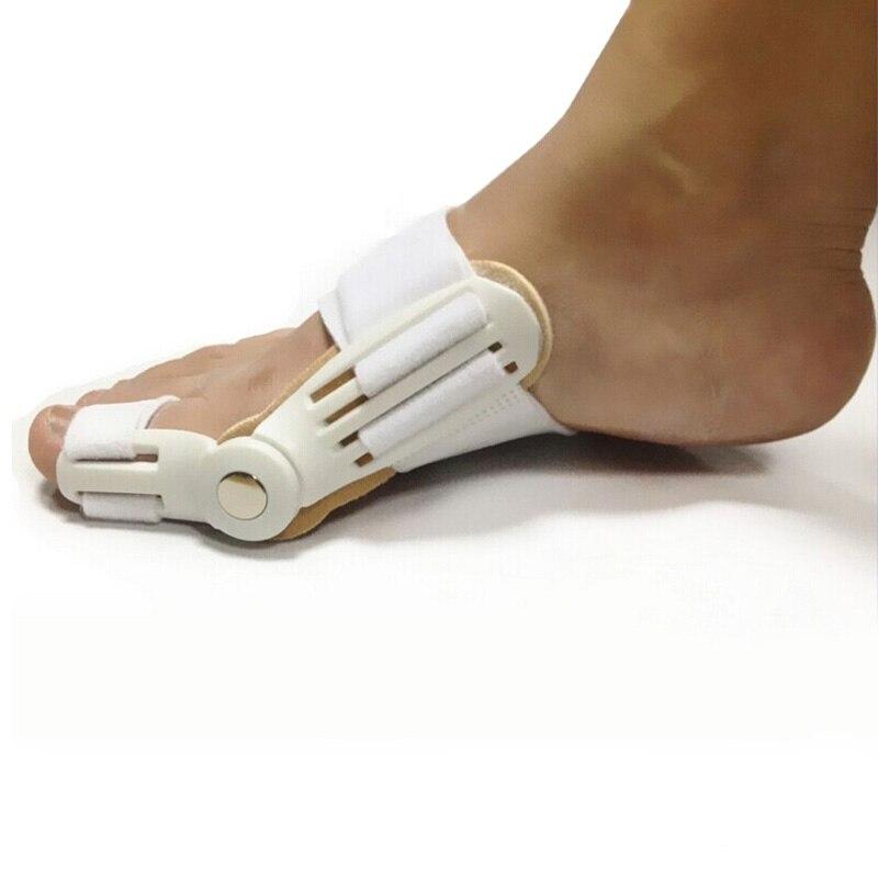 1 pair = 2 pcs Pedicure Órteses Hálux Valgo Corrector Joanete Separador Do Dedo Do Pé 24 Horas Pro Ajustador Dedão do pé Ortopédico Cuidados Com os pés