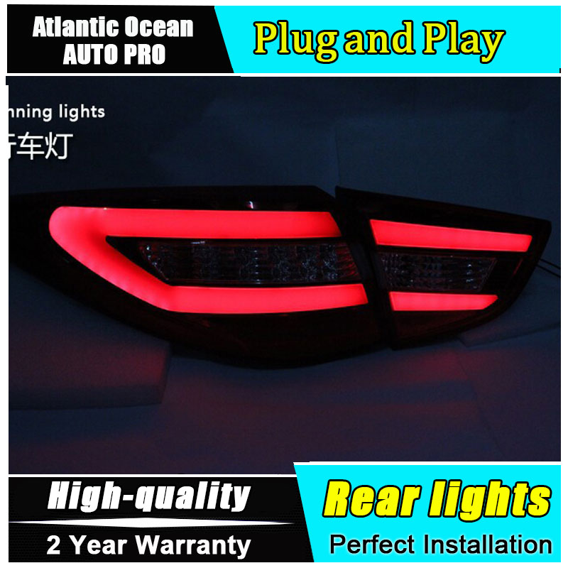 JGRT 2010-2013 For IX35 taillights accessories ix35 fog lamps car styling led light guide bar led tail lamps parking for lexus rx gyl1 ggl15 agl10 450h awd 350 awd 2008 2013 car styling led fog lights high brightness fog lamps 1set