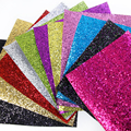 43367 20*34CM patchwork glitter pvc fabric for Tissue Kids Bedding textile for Sewing Tilda Doll, DIY handmade materials