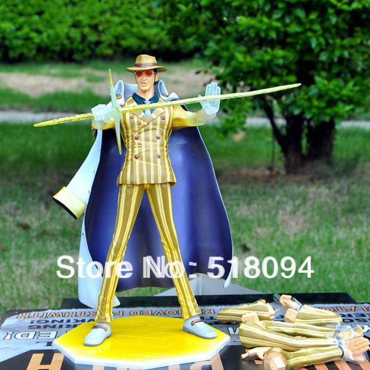 anime figures Free Shipping POP Kprusoian Japanese Anime One Piece PVC Action Figure POP Model Collection Toy стоимость