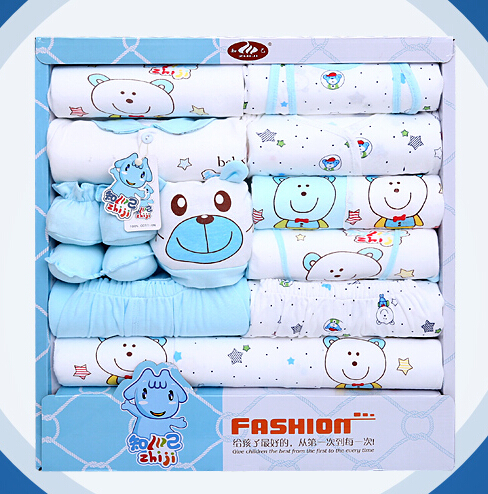 100 Cotton Newborn Clothes Summer Baby Gift Box Set Baby Products
