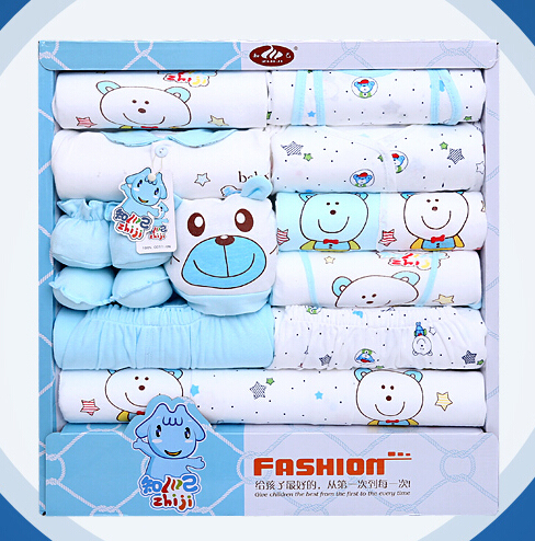 100% cotton newborn clothes summer baby gift box set baby products newborn  baby set 18 pcs for 0 12 month baby-in Clothing Sets from Mother   Kids dc65fcbfd047