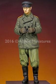 1:35 WW2 Russian Tank CommanderRommel
