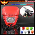 12V Universal Motorcycle Headlight Headlamp For all Street fighter dirt bike Dual sport naked CRF250 CRF150 XR250 XT WR DR RM KL