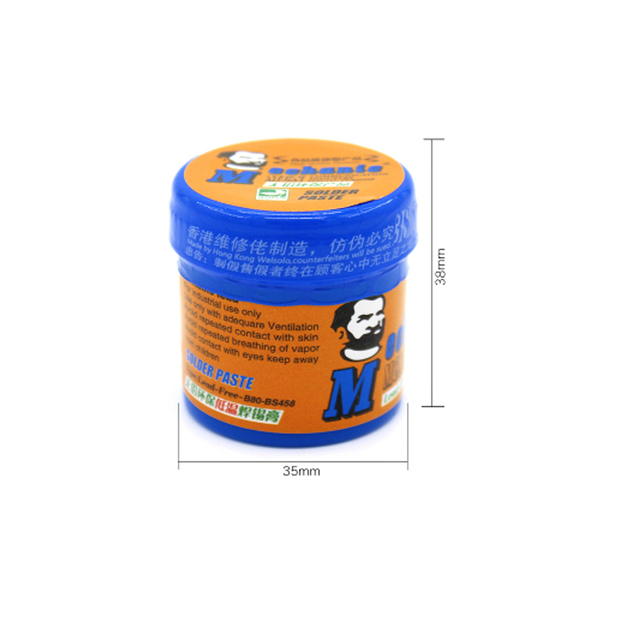 Original Low temperature soldering Paste Flux MECHANIC B80 60g Solder tin paste Sn42/Bi58 For Hakko 936 ts100  Soldering iron
