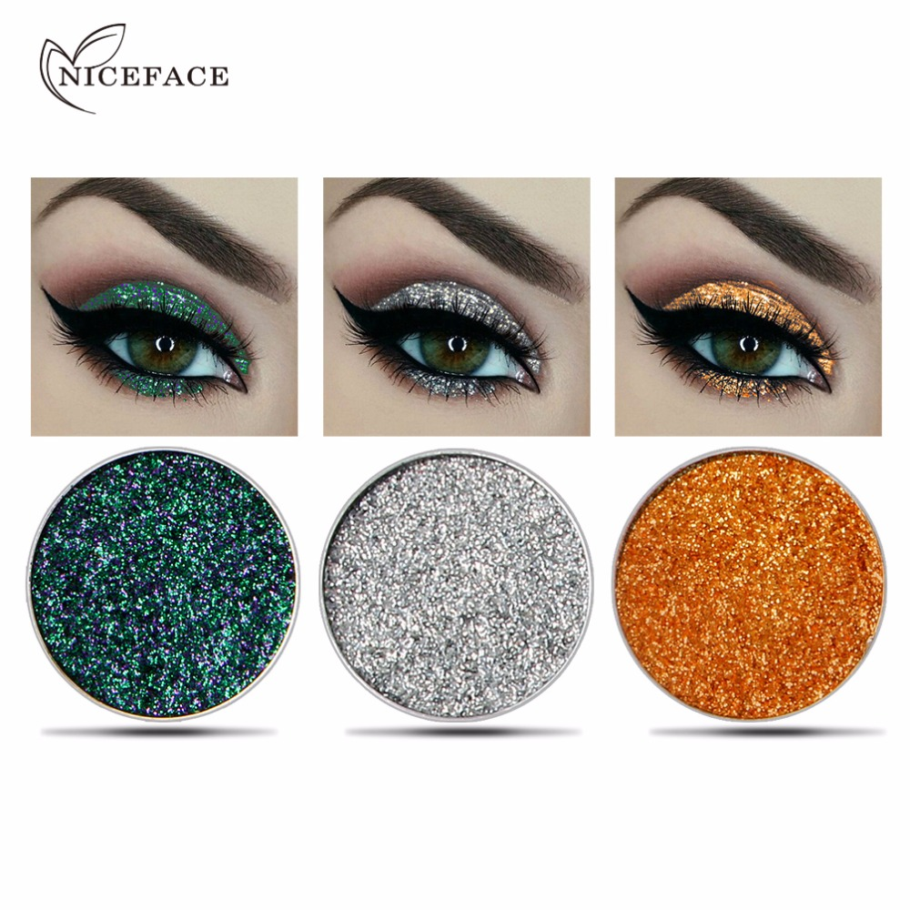 Qibest Eye Shadow Glitter Eyes Loose Powder Brighten 30 Colorful Women Party Metallic Shimmer Blue Eyeshadow Makeup Cosmetics 100% Original Beauty Essentials Beauty & Health
