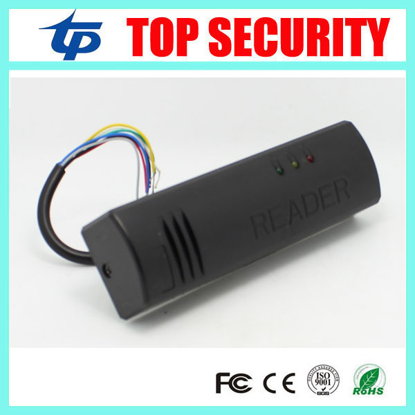 Weigand26/34 125khz RFID card reader IP65 waterproof smart card door access control reader door security outdoor mf 13 56mhz weigand 26 door access control rfid card reader with two led lights