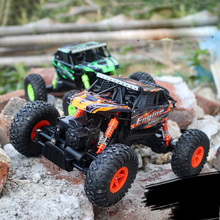 27cm Large 1:18 4WD RC Cars Updated Version 2.4G Radio Control RC Cars Models 2017 High speed Off-Road Trucks Toys for Children
