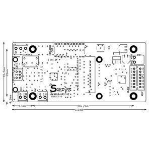 Image 2 - AK4118デジタル受信機ボードオーディオデコーダdac spdif iis同軸光学usb aes ebu入力サポートxmos amanero 1.3インチoled