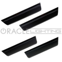 CYAN SOIL BAY 2008 2014 ORACLE for DODGE CHALLENGER CONCEPT BLACK GHOSTED LED SIDE MARKERS 4PC