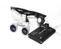 Czarny SY-06 Nowy 3.5x420 Dental Lab Chirurgiczne Lup Okulary + LED Head Light Lampa Sprzedaż Bezpośrednia AAA +