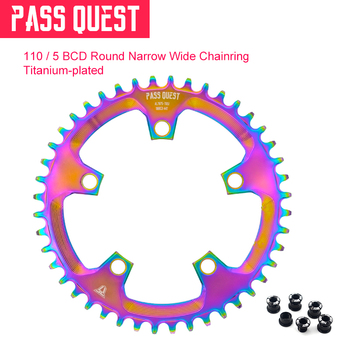 5 Paws 110mm BCD MTB Mountain Bike Chainring Chain Wheel 38T 40T 42T 44T 46T 48T 50T 52T for 3550 APEX RED  Carbon Bmx Wheel
