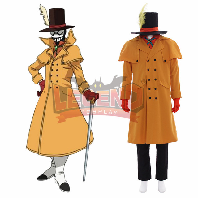 Us 76 0 My Hero Academia Boku No Hero Akademia Mr Compress Atsuhiro Sako Cosplay Costume Outfit Halloween Adult Costume Custom Made In Anime