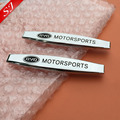 2pcs Glossy BYD logo Car Fender side Emblem Badge Decal rear bumper trunk Sticker Auto styling Free shipping