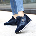 2016 Brand Women Shoes Lace Up Women Casual Shoes Warm Canvas Shoes Chaussure Femme Ladies Shoes