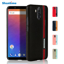 For Ulefone Power 3 Leather Phone Case For Ulefone Power 3S Case For Oukitel K6 Vernee X Business Case Fashion Colorful Bag Case(China)