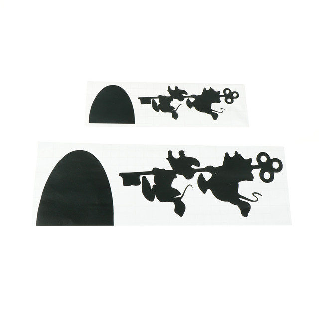 Mouse House Vinyl wall sticker