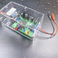 2pcs/lot DIY Kit LM317 Adjustable Regulated Voltage 220V to 1.25V 12.5V Step down Power Supply Module PCB Board Electronic kits