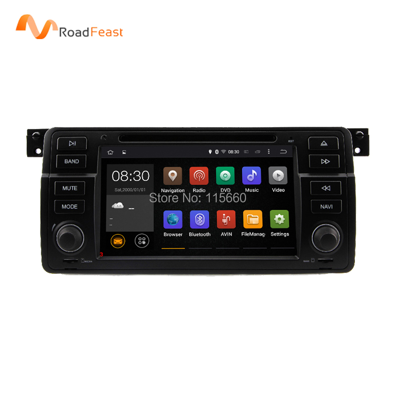 Android 5.1.1 7 Inch Car DVD Player Multimedia For BMW E46 M3 MG ZT 3 Series Rover 75 Canbus Wifi GPS Navigation FM Radio Map