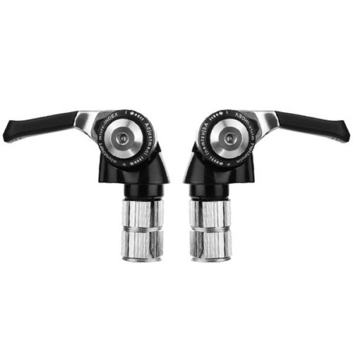 Microshift 9 speed derailleur TT Bar end shifter BS-A09 - 3 x 9 speed for shimano Shift Brake Lever free shipping original new microshift tt bar end shifter bs a10 2 3 x 10 speed for shimano compatible