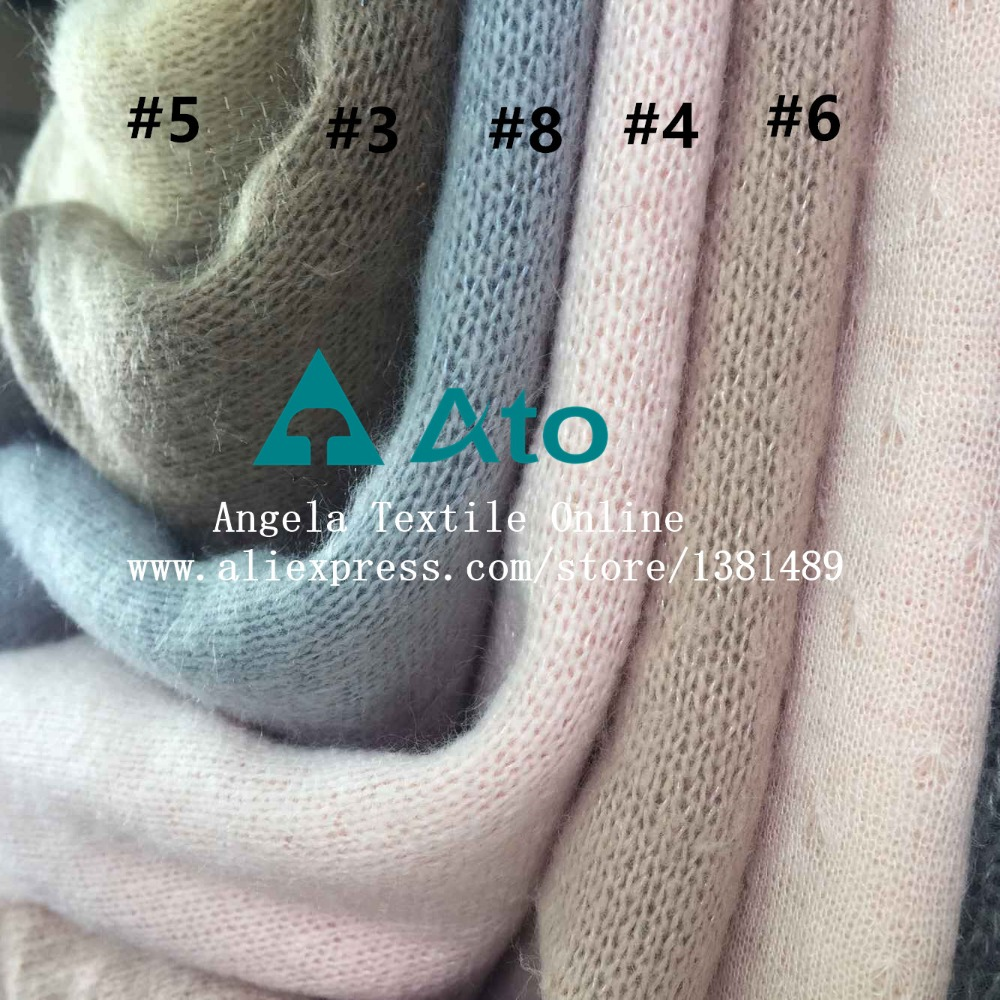 Wholesale Soft Knitted Fabric Polyester Cotton sewing