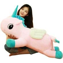 Cute Unicorn Doll Plush Toy Animal Plush Toy Sleeping Pillow Cushion Birthday Gift Home Decoration стоимость