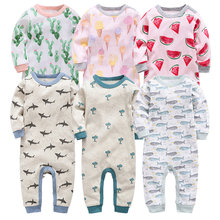 Kavkas Baby Rompers Newborn Baby Boy Clothes Newborn Clothing Cotton Baby Girl Clothes Roupas Infant Jumpsuits Newborn Rompers цена 2017