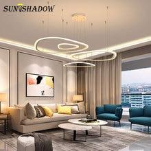 White Creative Modern Led Pendant Light For Living room Bedroom Dining room New Led Pendant Lamp AC110V 220V Lighting Fixtures стоимость