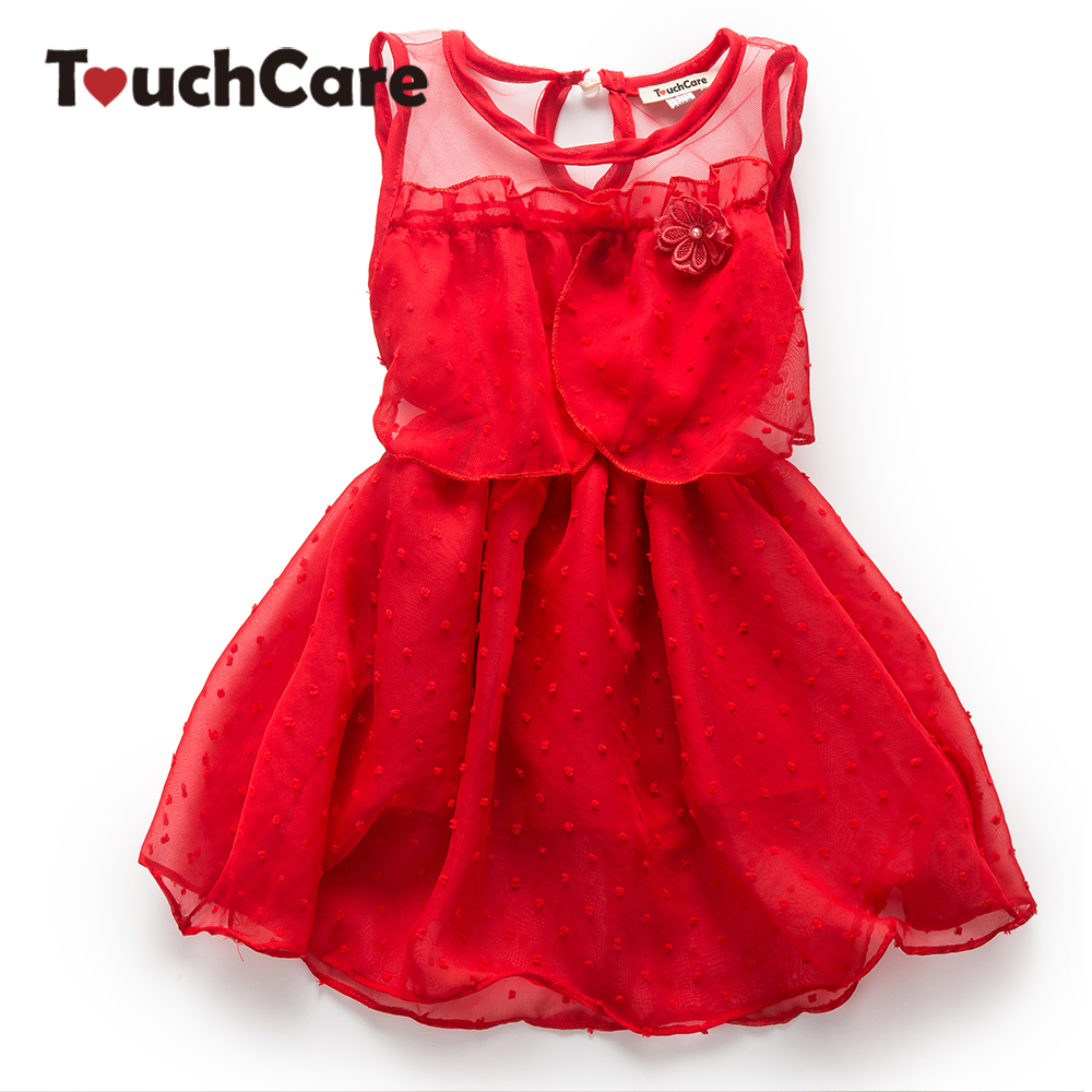 Clearance 1 Year Birthday Dress Lace Baby Girl Dress Summer A-line Vestido Infantil Princess Baby Dress Sleeveless Party Dress