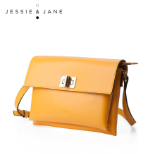 JESSIE&JANE 2016 New All-match Women's Classic Split Leather Cross-body Bags 1318