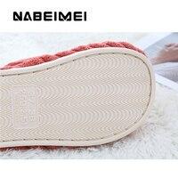 Home slippers for men corduroy cheaper designer short plush winter slippers men warm comfortable non-slip male slippers 5